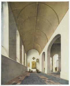 Interieur van de Sint Antoniuskapel in de Utrechtse Janskerk