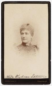 Portret van Aletta van Latum