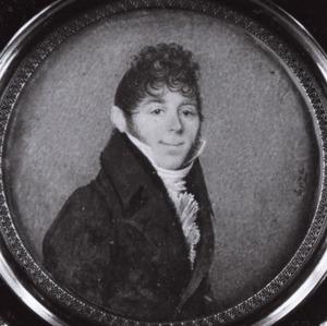 Portret van Gerrit Jan van Houten (1774- )