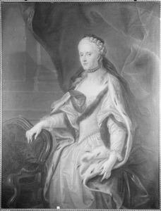 Portret van Louise Amalia van Brunswijk -Wolfenbuttel (1722-1780)