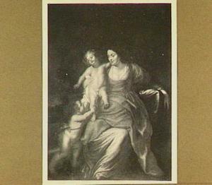 Maria met kind en putto