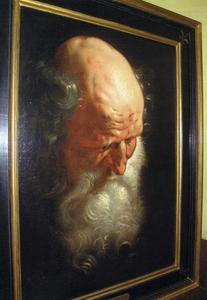 Studie van de apostel Simon de Zeloot