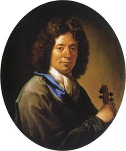 Portret van de componist Arcangelo Corelli