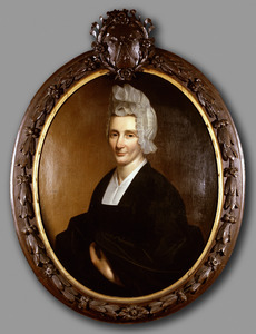 Portret van Catharina Biscop ( -1732)