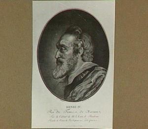 Portret van Hendrik IV, koning van Frankrijk