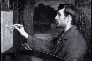 Portret van Frans Slager (1876-1953)