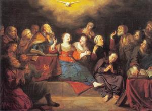Pinksteren (Handelingen 2:1-4)