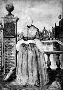Portret van mogelijk Antoinette Meurisse (1671-1730)