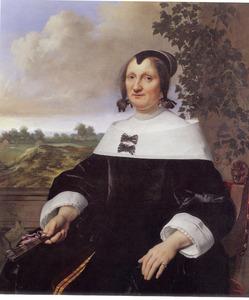Portret van een vrouw, waarschijnlijk Hester du Pire (?-1656)