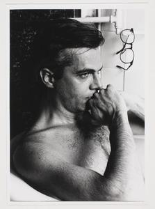 Portret van Jan Andriesse in bad