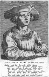 Portret van Bernard van Orley (1491-1542)