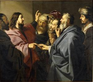 Jezus en het belasting geld