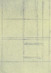 Sketch for a composition on a cigarette package