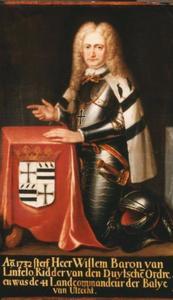 Portret van Willem baron van Lintelo