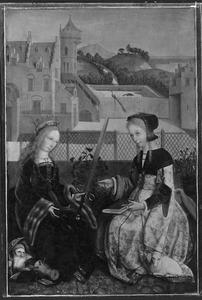 De HH. Catharina en Agnes