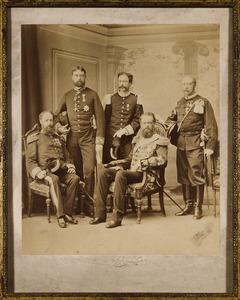 Het Nederlands gezantschap naar Moskou bij de kroning van tsaar Alexander III