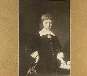 Portret van een jongen op vijfjarige leeftijd