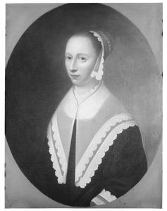 Portret van Judith Mom (?-1681)