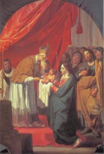 De presentatie in de tempel