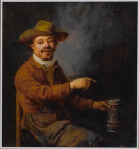 Een bierdrinker