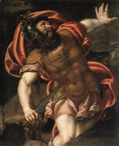 De zelfmoord van Saul (I Sam. 31:1-5)