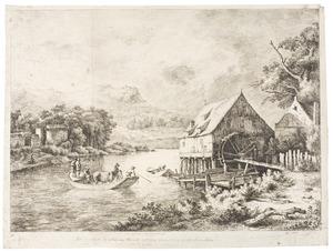 Le moulin de Ruysdael