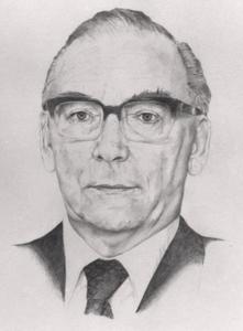 Portret van E.J.M. Kolfschoten