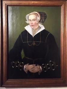 Portret van een vrouw, genaamd Maria Hacfort (?-1550)