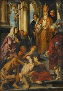 De H. Martinus geneest een bezetene