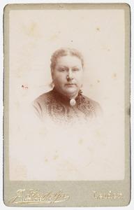 Portret van Johanna Petronella Catharina Lamme (1843-1917)