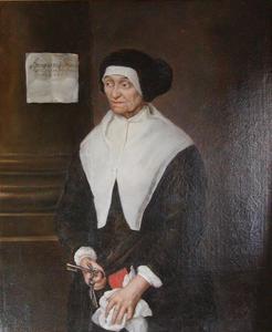Portretn van Live Larsdatter, Tycho Brahes huishoudster (1575-1698)