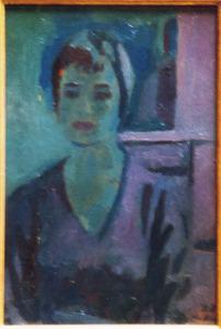 Portret van een academiemodel