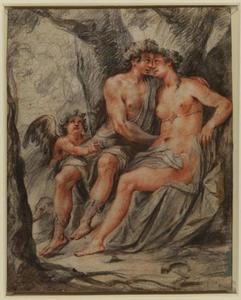 Mercurius, Venus en Cupido