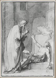 Heremiet Paulus de Eenvoudige geneest een door de duivel bezeten man