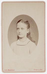 Portret van Alida Maria Frederika de Wit (1865-1912)