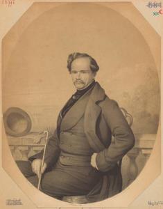 Portret van Edouard Henri Elphinstone graaf van Bylandt (1806-1869)