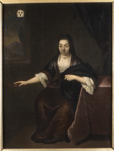 Portret van Lucretia Erckelens (1663-1745)