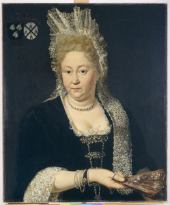 Portret van Clara van Meeckeren (1660-1708)
