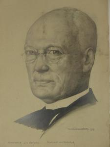 Portret van J.H. Berends