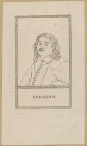 Portret van een man, genaamd Nicolaes Pietersz. Berchem (....-1683)