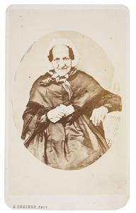 Portret van Walrandina Sophia Paulina Tilanus (1792-1868)