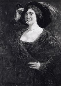 Portret van Hendrika Ellina Hopper (1877-1964)