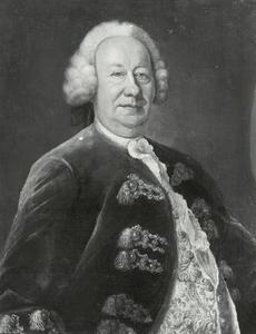Portret van Johann Franz Thor Becke (1690-1759)