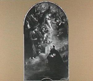 Het visioen van de H. Ignatius