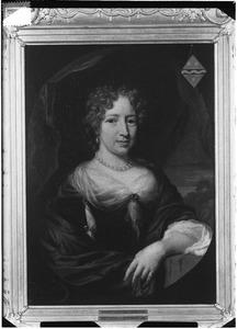 Portret van Maria van der Horn (1639-1704)
