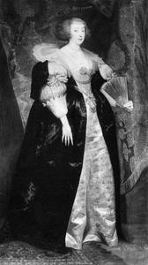 Portret van Marguerite, prinses de Lorraine (1615-1672), echtgenote van Gaston d'Orléans
