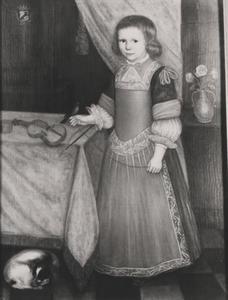 Portret van Bernard Engelbert Christiaan van Bevervoorde (1665-1704)