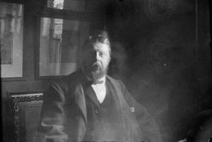 Zelfportret van George Hendrik Breitner