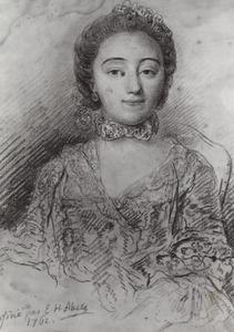 Portret van waarschijnlijk Anna Elisabeth Christina van Tuyll van Serooskerken (1745-1819)