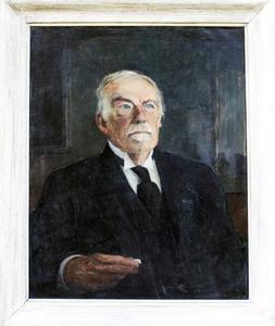 Portret van Jan Cornelis Kluyver (1860-1932)